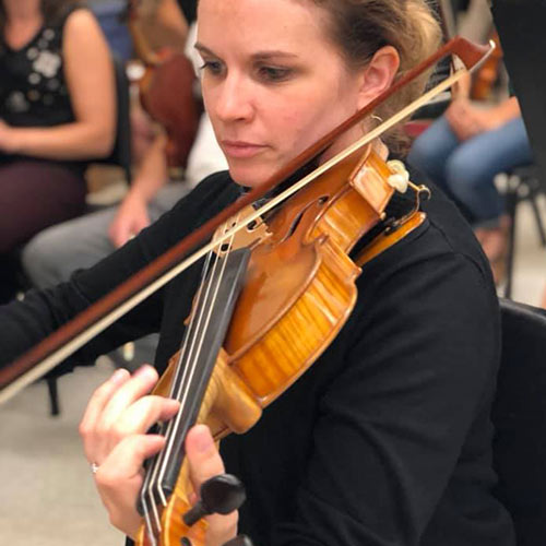 Special Memories from the Violin Section